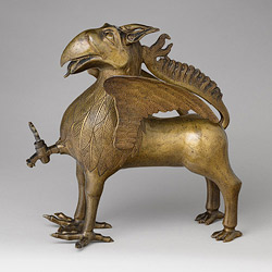Griffin aquamanile