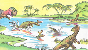 Odd-billed dinosaurs
